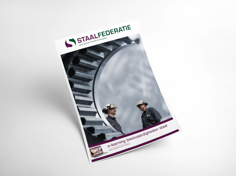 ontwerp brochure Staalfederatie