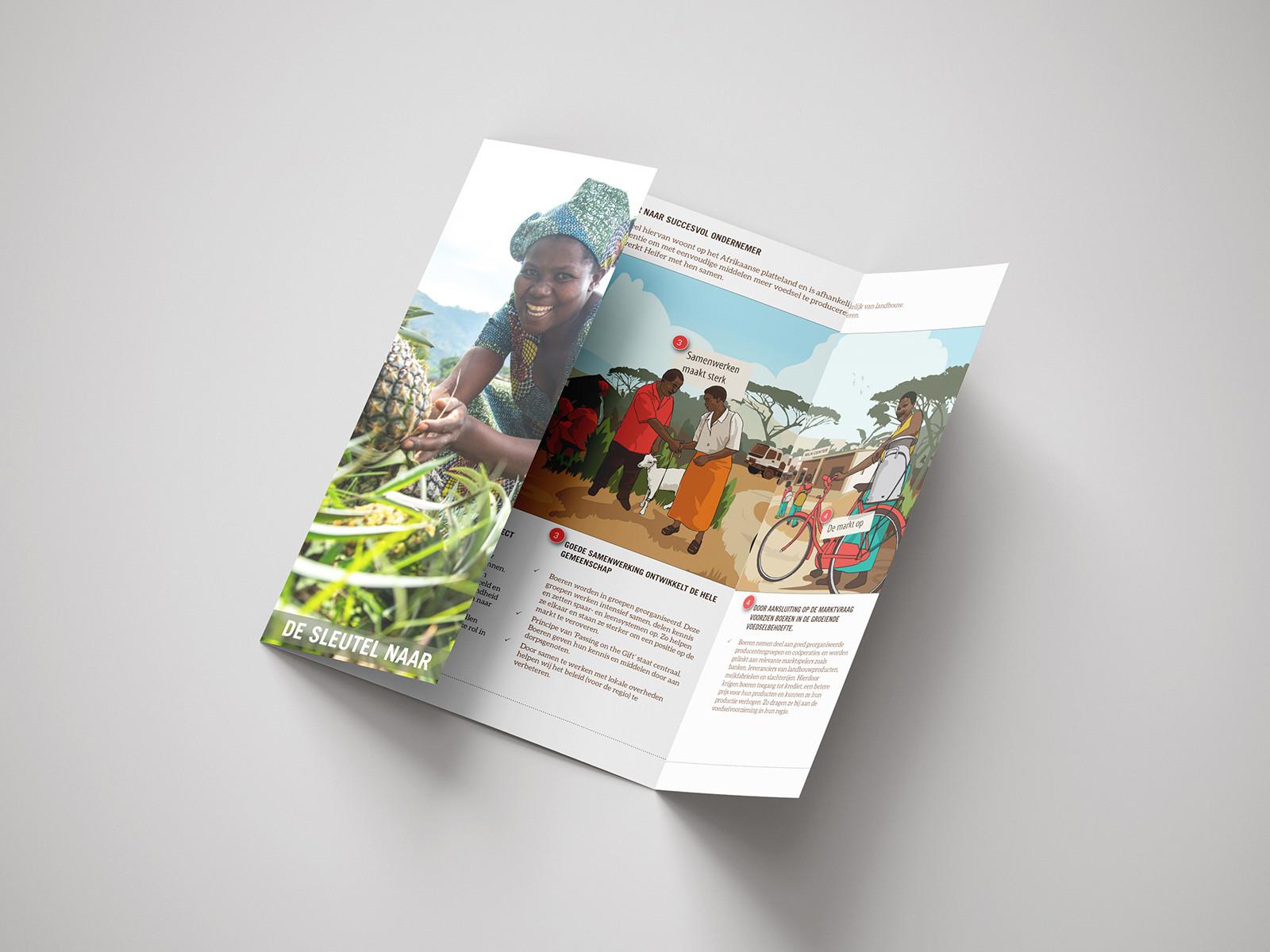 ontwerp flyer Heifer